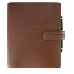 Agenda EXACOMPTA Exatime 21 Carat chocolat - 257x215x56 mm