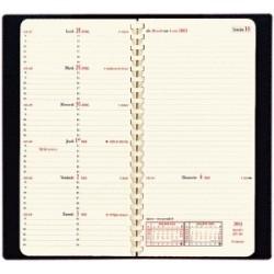 Agenda QUOVADIS Italnote «S» - 8,8 x 17 cm - 13 mois (décembre à décembre) sans répertoire