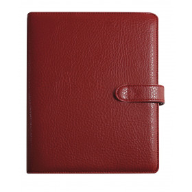 Agenda organiseur EXACOMPTA Exatime 21 Baltique rouge - 230 x 190 mm