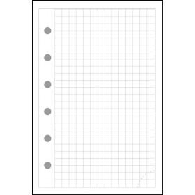 Recharge EXACOMPTA Exatime 17 Notes - Quadrillé 5x5 - 44 pages
