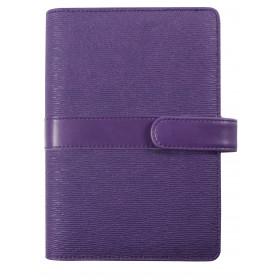 Agenda organiseur EXACOMPTA Exatime 17 Kelly violet - 190x135mm