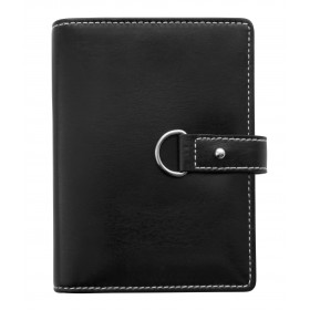 Agenda organiseur EXACOMPTA Exatime 14 Ring Belt noir - 140 x 100 mm