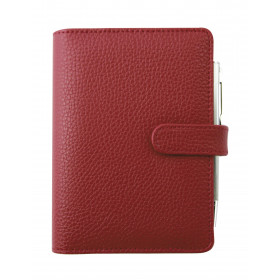 Agenda organiseur EXACOMPTA Exatime 14 Baltique rouge - 140 x 100 mm