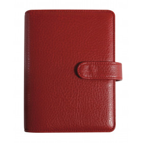 Agenda organiseur EXACOMPTA Exatime 17 Baltique rouge - 190 x 150 mm