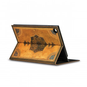 Coque de protection eXchange PAPERBLANKS série Safavide pour tablette tactile iPad 2-3-4 - 197×254mm