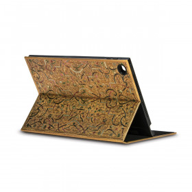 Coque de protection eXchange PAPERBLANKS série Marqueterie d''Or pour tablette tactile iPad MINI - 146×210mm