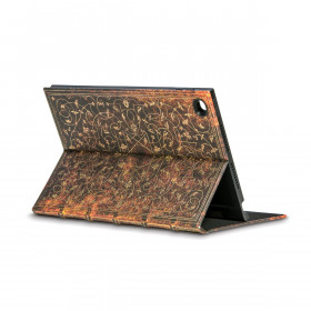 Coque de protection eXchange PAPERBLANKS série Grolier pour tablette tactile iPad 2-3-4 - 204×254mm