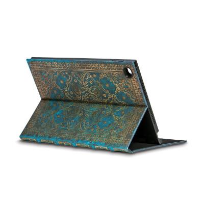 Coque de protection eXchange PAPERBLANKS série Azur pour tablette tactile iPad AIR 2 - 190×251mm