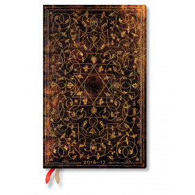 Agenda PAPERBLANKS (Version ANGLAISE) Grolier - Maxi 135×210mm - 1 semaine sur 2 pages vertical
