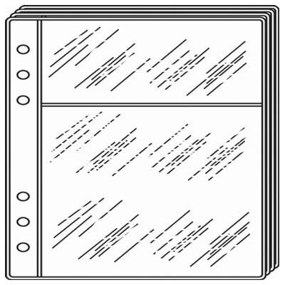 Recharge QUOVADIS TIMER 21 - 4 Pochettes cartes de visites - 15x21cm
