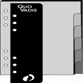 Recharge QUOVADIS Intercalaire + règle 8 x 12,5cm pour TIMER 14