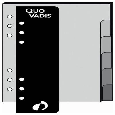 Recharge QUOVADIS TIMER 14 - Intercalaire + règle 8 x 12,5cm