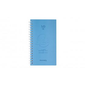 Agenda EXACOMPTA SAD 16W Linicolor - 165x90mm - 1 semaine sur 2 pages - spirale (COLORIS ALEATOIRES)