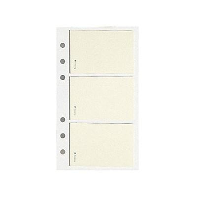 Recharge EXACOMPTA pour Exatime 17 -3x blocs Post-it notes - 172x105mm