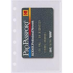 Recharge EXACOMPTA pour Exatime 14 - 5 pochettes cartes de visite