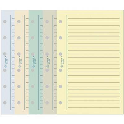 Recharge EXACOMPTA pour Exatime 14 - Travers ligné couleurs assorties - 32pages