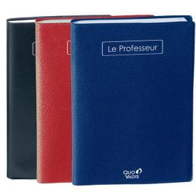 Agenda QUOVADIS Le professeur 21 x 27 cm - 1 semaine sur 1 page (COULEURS ASSORTIES)