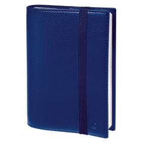 Agenda QUOVADIS TIME & LIFE POCKET - 10x15cm - BLEU PERSE - 1 semaine sur 2 pages