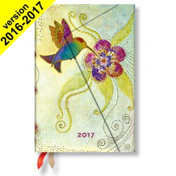 Agenda PAPERBLANKS Colibri - Mini 100×140mm - 1 semaine sur 2 pages vertical