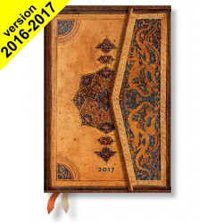 Agenda PAPERBLANKS Safavide - Mini 100×140mm - 1 semaine sur 2 pages vertical
