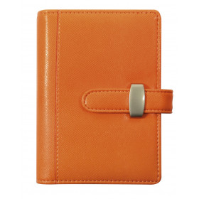 Agenda organiseurs EXACOMPTA Exatime 14 light Rialto Orange - 140x100mm