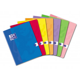 Cahier A4 OXFORD 96 pages - seyes - 170x220mm (COLORIS ALEATOIRES)