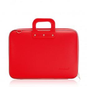 """Mallette PC Portable 15"""" BOMBATA CLASSIC vinyle ROUGE - 43x33x7cm"""