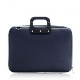 "Mallette PC Portable 15"" BOMBATA CLASSIC vinyle NAVY - 43x33x7cm"