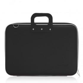 """Mallette PC Portable 17"""" BOMBATA CLASSIC vinyle NOIR - 46,5x35x8cm"""
