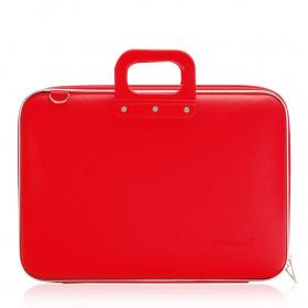"""Mallette PC Portable 17"""" BOMBATA CLASSIC vinyle ROUGE - 46,5x35x8cm"""