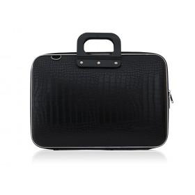 """Mallette PC Portable 15"""" BOMBATA COCO vinyle NOIR - 43x33x7cm"""