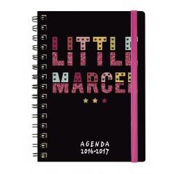Agenda EXACOMPTA de poche SAD 13 little marcel - All Over - 130x90mm - 1 semaine sur 2 pages