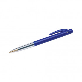 Stylo bille rétractable BIC M10 - 0,4 mm - bleu