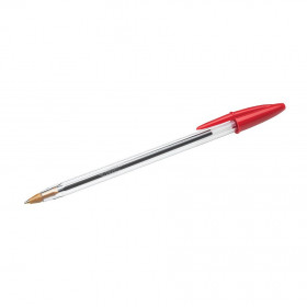 Stylo bille BIC Cristal 0,4 mm - rouge