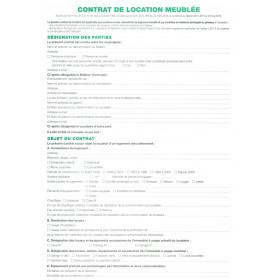 Sp cial location agenda discount - Contrat de location de locaux vacants non meubles ...