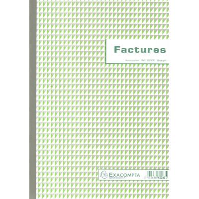 Manifold EXACOMPTA Factures 29,7x21cm - 50 feuillets dupli autocopiants