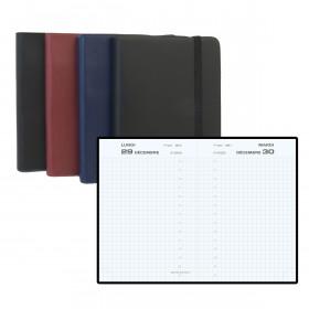 Agenda EXACOMPTA plastique - 130x85mm - 1 jour par page (COLORIS ALEATOIRES)