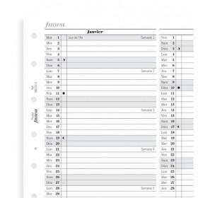 Recharge agenda FILOFAX organiseur POCKET - - 81x120mm - VERTICAL