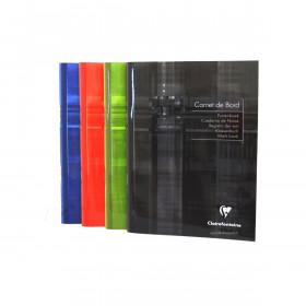 Carnet de bord CLAIREFONTAINE - 14,8x21cm - 64 pages
