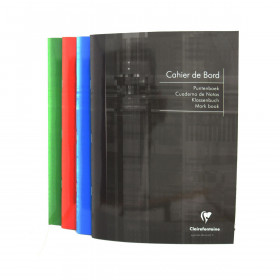 Cahier de bord CLAIREFONTAINE Int'l - 21x29,7cm - 72 pages