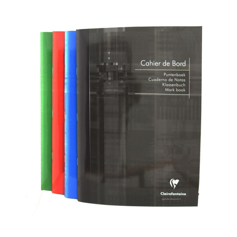 Cahier de bord CLAIRFONTAINE Int'l - 21x29,7cm - 72 pages
