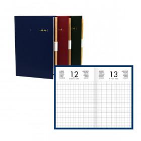 Agenda Chantier LECAS - 1 jour par page 13 x 8 cm (COULEURS ALEATOIRES)