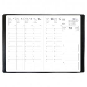 Agenda LECAS Classique 10x15cm cm - 1 semaine sur 2 pages