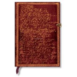 Carnet PAPERBLANKS ligné - Midi 130×180mm - Edition spéciale série 400ème anniversaire de Shakespeare