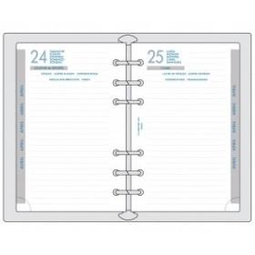 Recharge septembre à septembre Exatime 17 - 1 jour à la page - 172x105x8 mm