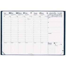Recharge pour agenda QUOVADIS Consul® 21 x 29,7cm - 1 semaine sur 2 pages avec répertoire