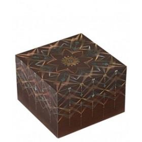 Boîtes Souvenirs PAPERBLANKS Bhava Carré Ultra 178x178x120mm