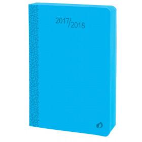 Agenda QUOVADIS EUROTEXTAGENDA Velvet - Bleu horizon - 12x17cm - 1 jour par page