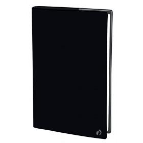 Agenda QUOVADIS PRESIDENT Touch - Noir - 21x27cm - 1 semaine sur 2 pages