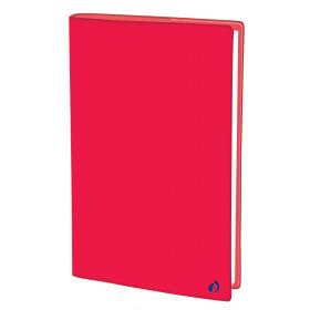 Agenda QUOVADIS PRESIDENT Touch - Rouge corail - 21x27cm - 1 semaine sur 2 pages